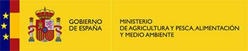 Logo Gobierno de España. Ministerio de agricultura y pesca, alimentación y medio ambiente.
